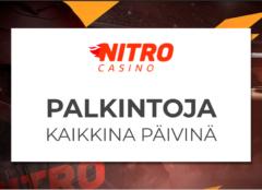 Nitro Casino palkitsee päivittäin