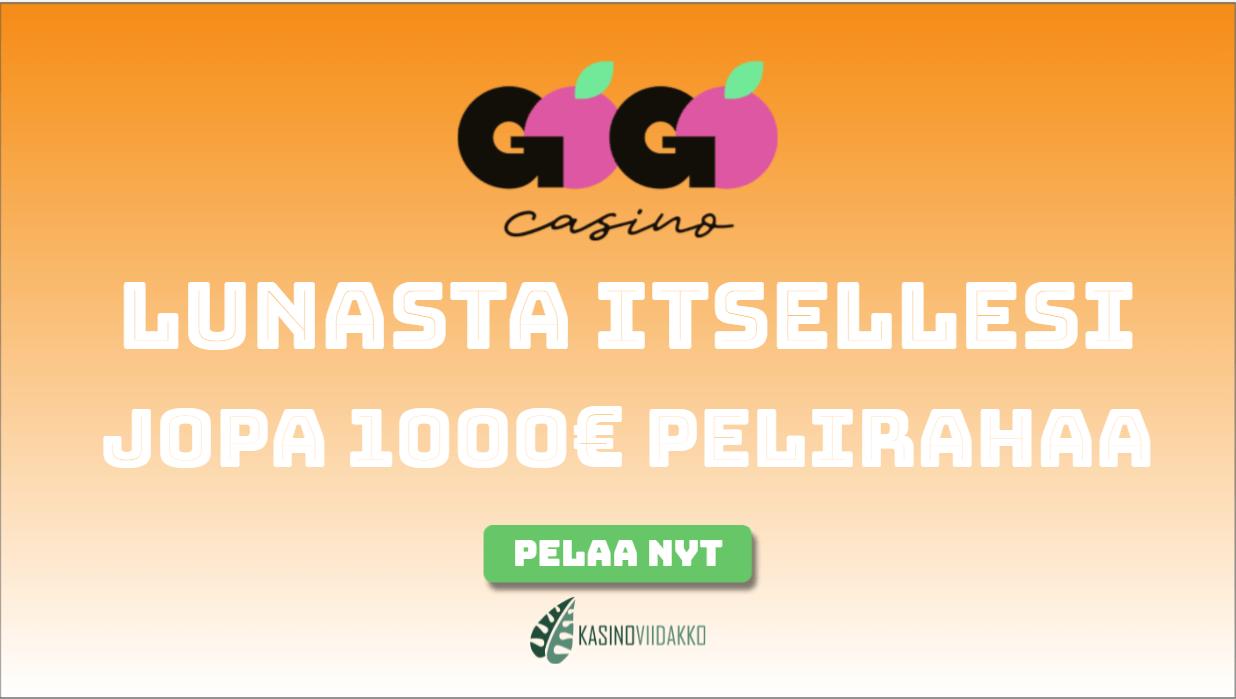 gogojungle - Nappaa itsellesi antelias tervetuliaistarjous