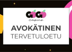 gogoviidakko 240x174 - Kasinobonukset