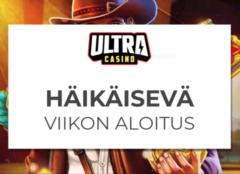 Boostia maanantaihin Ultra Casinolta